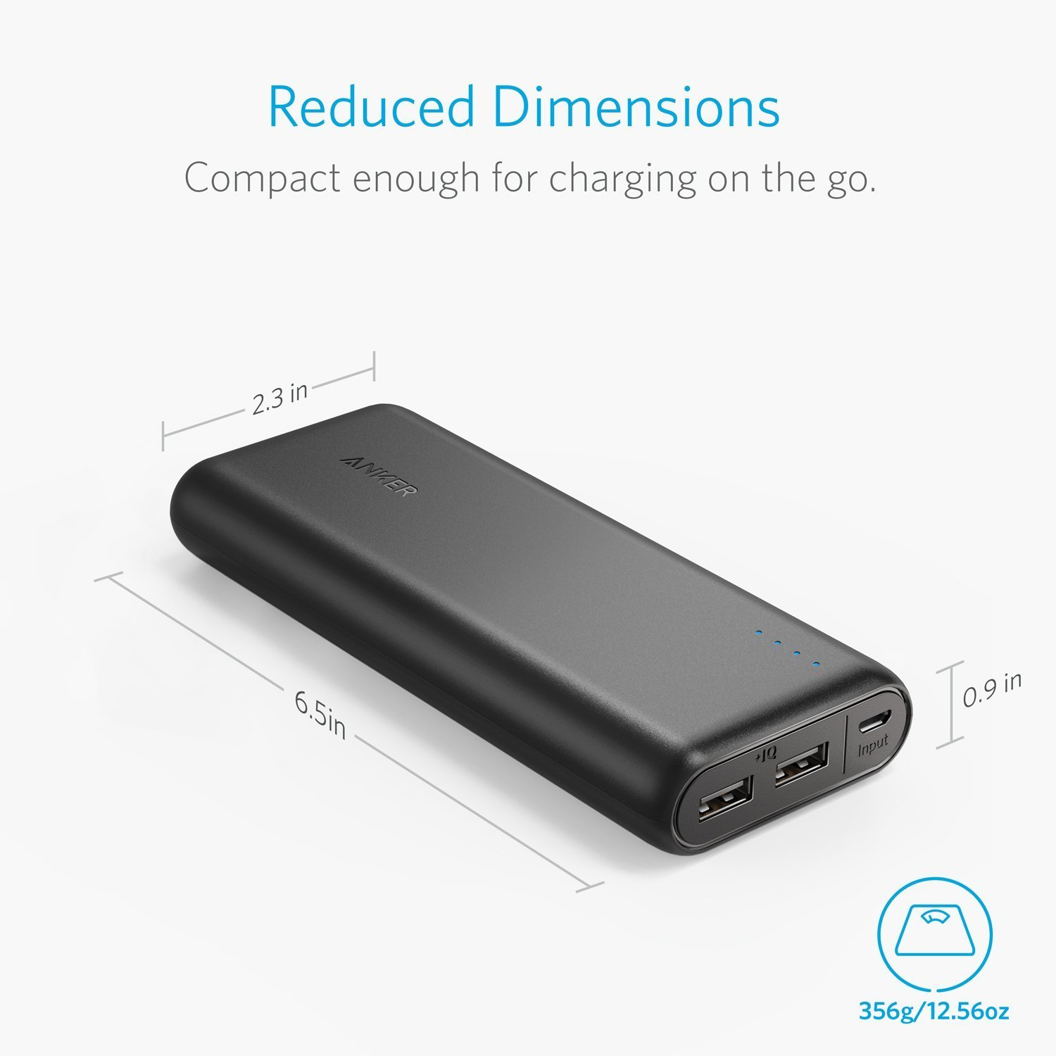 anker powercore 20100 portable charger black a1271h12