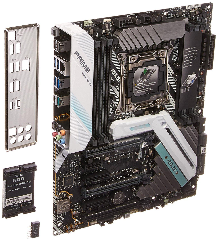 ASUS PRIME X299-A LGA2066 DDR4 M 2 USB 3 1 ATX Motherboard