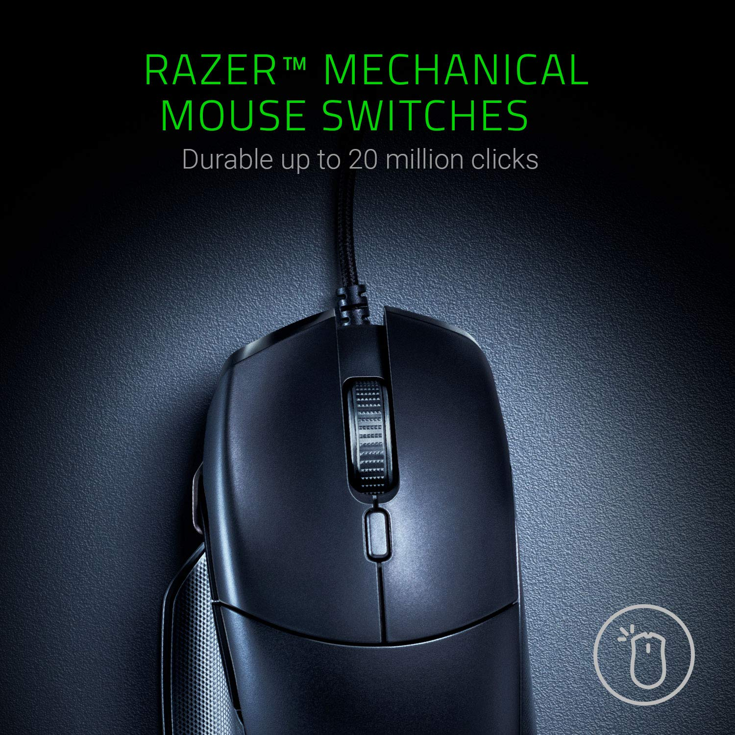 Razer Basilisk Essential Right Handed Gaming Mouse - RZ01-02650100-R3M1