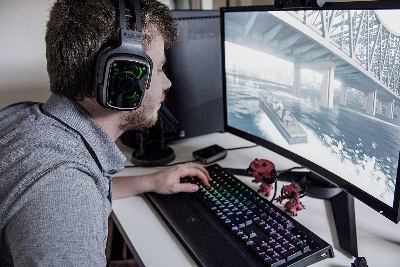 Razer Tiamat 71 V2 Gaming Headset Rz04 02070100 R3m1 Headsets Fs Kraken Pro White