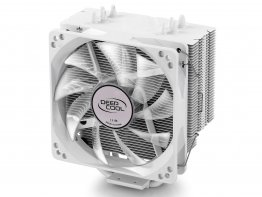 DEEPCOOL GAMMAXX 400 WHITE 120mm CPU Cooler for Intel LGA 2011-v3/2011/1366/1156/1155/1151/1150/775 & AMD Socket AM4/FM2+/FM2/FM1/AM3+/AM3/AM2+/AM2