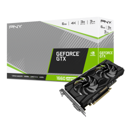 PNY GeForce GTX 1660 SUPER 6GB Dual Fan Graphics Card