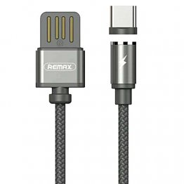 REMAX RC-095a Gravity Magnetic USB Type-C Cable - Black