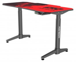 RANSOR Gaming Space Professional Desk with Intelligent Height Adjustment - 120x60cm w/ RANSOR Gaming MoozePad XXL Space Gamer Edition - RNSR-GD-SPACE-STD