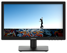 "LENOVO 18.5"" D19-10 HD Monitor - BLACK-61E0KCT6UK"