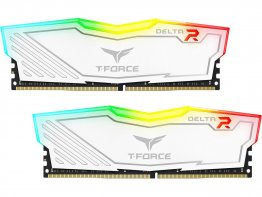 Team Group T-Force Delta II RGB Series 8GB (2 x 4GB) 288-Pin DDR4 SDRAM DDR4 3000 (PC4 24000) Desktop Memory Model - TF4D48G3000HC16CDC01