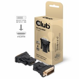 Club 3D DVI to HDMI Passive Adapter