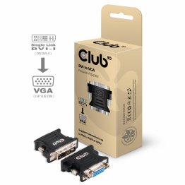 Club 3D DVI to VGA Passive Adapter