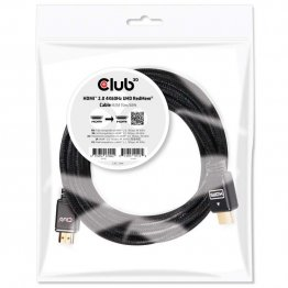 Club 3D 4K/Ultra HD HDMI 2.0 RedMere Cable 15m