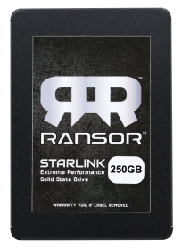 RANSOR Gaming StarLink 250GB Extreme Performance Solid State Drive - RNSR-SSD-SL25-250GB