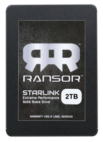 RANSOR Gaming StarLink 2TB Extreme Performance Solid State Drive - RNSR-SSD-SL25R2-2TB