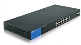 Linksys Business LGS318 16-Port Gigabit Smart Managed Switch + 2x Gigabit SFP/RJ45 Combo Ports