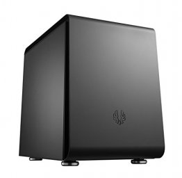 BitFenix Phenom M BFC-PHM-300-KKXKK-RP Midnight Black Steel / Plastic Mini Tower Computer Case -Clearance Item: No Warranty, Refund or Exchange.