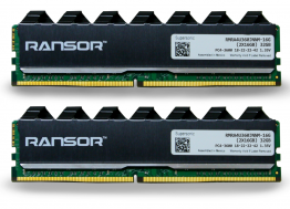RANSOR Supersonic 32GB (2x16GB) 3600MHz DDR4 RAM Kit