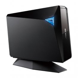Asus BW-12D1S-U 12X USB3.0 Blu-ray External Writer Drive (Black), Retail