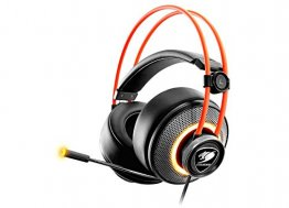 Headset Immersa Pro RGB / 7.1 Virtual Surround / Driver 50mm - CG-HS-IMMERSAPRO-BLK
