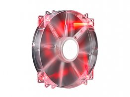 COOLER MASTER R4-LUS-10AR-GP Storm Force 200mm Red LED Case Fan