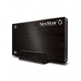 Vantec NexStar 6G NST-366S3-BK 3.5 inch SATA3 to USB 3.0 External Hard Drive Enclosure (Black)