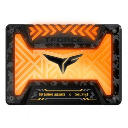 Team Group SSD T-Force Delta S TUF RGB 250GB 2.5'', SATA3, 560/500 MB/s - T253ST250G3C312