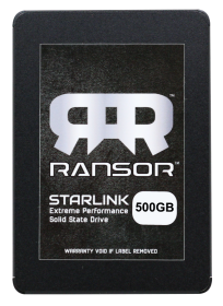 RANSOR Gaming StarLink 500GB Extreme Performance Solid State Drive - RNSR-SSD-SL25-500GB