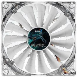 AeroCool Shark 140mm White LED Case Fan
