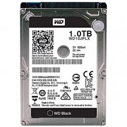 Western Digital Black WD10JPLX 1TB 7200RPM SATA3/SATA 6.0 GB/s 32MB Notebook Hard Drive (2.5 inch)