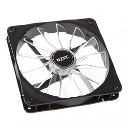 NZXT Airflow Series RF-FZ140-R1 140mm Red LED Case Fan