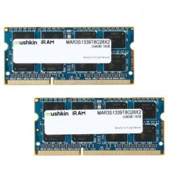 Mushkin Enhanced 16GB (2 x 8GB) iRam DDR3 PC3-10600 1333MHz Memory for Apple Model MAR3S1339T8G28X2
