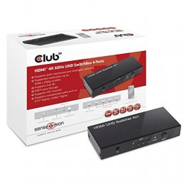 Club 3D CSV-1370 HDMI 2.0 UHD Switchbox 4 ports 4K 60Hz