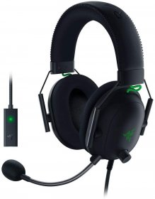Razer BlackShark V2 - Wired Gaming Headset + USB MIC,RZ04-03230100-R3M1.