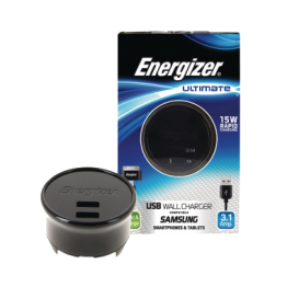 Energizer Ultimate USB Wall Charger for Micro USB Enabled Devices - AC2UUNUSM2