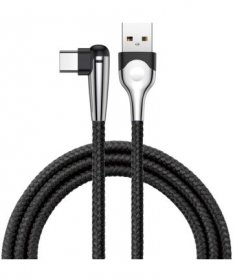 Baseus CATMVP-E01 MVP Mobile Game Cable Type-C 2A 2M - Black