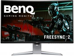 BenQ EX3203R Curved Gaming Monitor 32 inch WQHD 144Hz Refresh Rate and FreeSync 2 DisplayHDR 400
