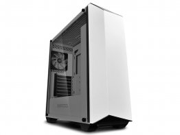 Deepcool Earlkase RGB WH White Steel / Plastic / Tempered Glass ATX Mid Tower Computer Case
