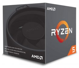 AMD Ryzen 5 2600 Six-Core 3.4GHz Socket AM4, Retail