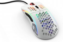 Glorious GDWHITE Model D Gaming Mouse Matte-White