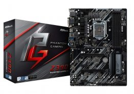 ASRock Z390 PHANTOM GAMING 4 LGA1151/ Intel Z390/ DDR4/ Quad CrossFireX/ SATA3&USB3.1/ M.2/ A&GbE/ ATX Motherboard