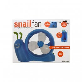 Battery Operated Snail USB Fan - OD411