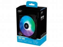 Deepcool RF120 3 In1 Customisable RGB LED Fans,120mm (3-Pack)
