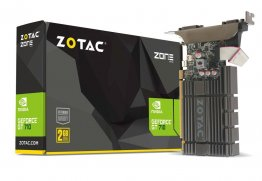Zotac Geforce GT710 2GB Zone Edition DDR3, 64 bit Graphic Card - ZT-71302-20L