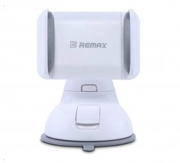 REMAX RM-06 360 Degree Rotation Car Holder - Gray / White