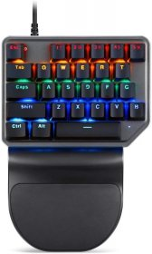 MOTOSPEED Wired Mechnical Keyboard RGB With BLUE Switch- MOTO K27 BLUE (6 Month Warranty)