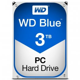 Western Digital Blue 3TB Internal Hard Drive - WD30EZRZ