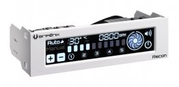 Bitfenix Recon BFA-RCN-WS-RP Fan Controller w/ Internet Connection (White) -Clearance Item: No Warranty, Refund or Exchange.