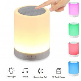 Dynos Color Touch - LED and Wireless Speaker BT-LED1535
