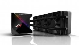 Asus ROG 90RC0020-M0UAY0 Ryujin 360 All-in-One Liquid CPU Cooler - Black