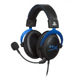 HyperX Cloud Gaming Headset for PlayStation 4 - Blue - HX-HSCLS-BL/EM