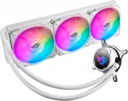 ASUS ROG Strix LC 360 RGB White Edition Liquid Cooler with Aura Sync