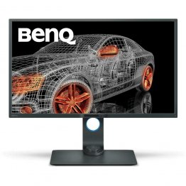 "BenQ PD3200Q 32"" 2K Designer Monitor, 2560x1440 2K QHD, sRGB, CAD/CAM, Animation, Darkroom, KVM, DualView , 60Hz refresh rate"