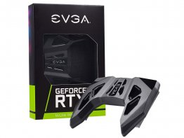 EVGA 100-2W-0030-LR GeForce RTX NVLink SLI Bridge with RGB LED (4-Slot Spacing)